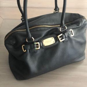 Michael Kora Hamilton luggage traveler tote